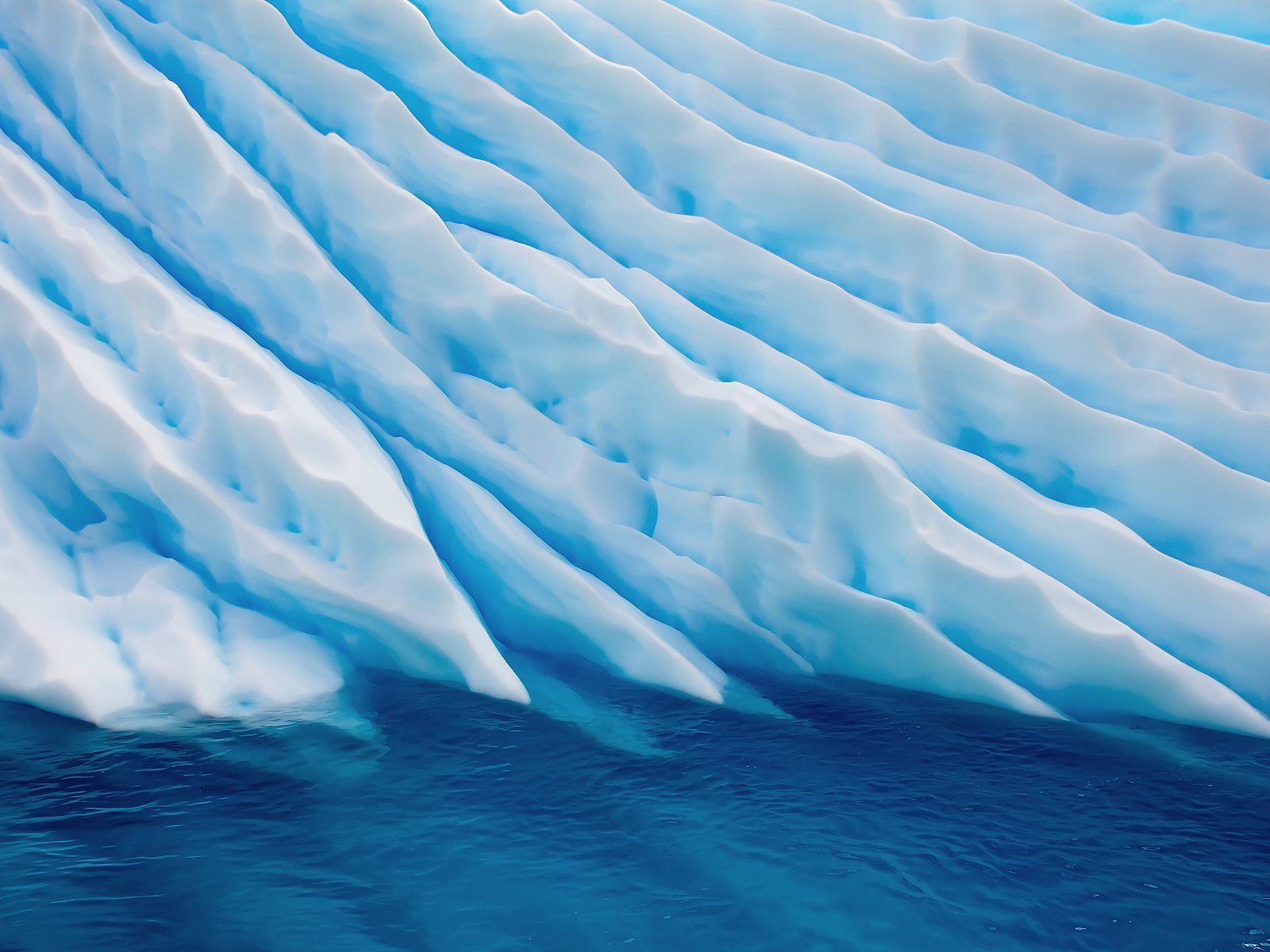 Ice Glacier Wallpaper Hd Wallpaper Background