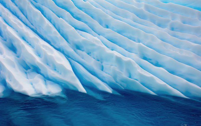 ice glacier wallpaper background
