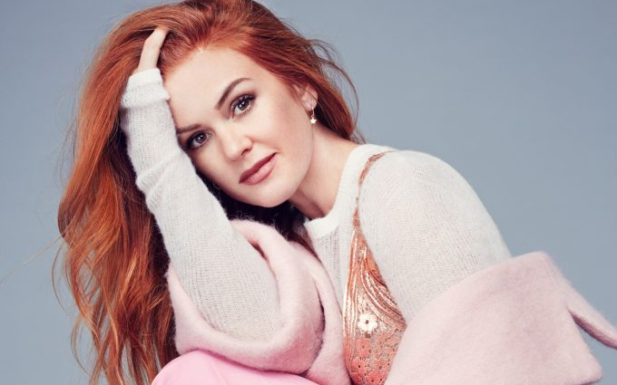 isla fisher style wallpaper background