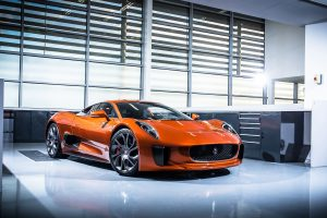 Jaguar C X75 4K Wallpaper