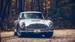 James Bond Aston Martin Wallpaper