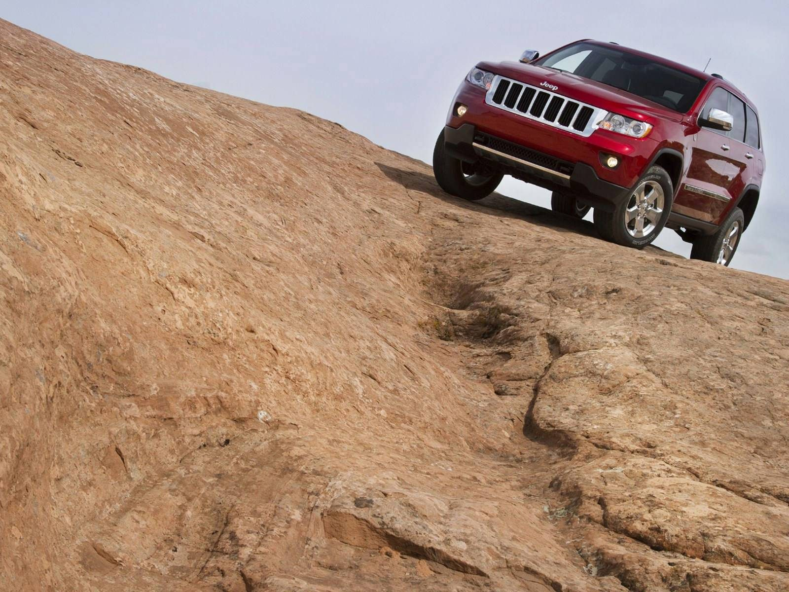 Jeep Grand Cherokee закат дорога без смс