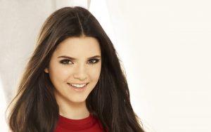 Kendall Jenner Red Dress Wallpaper