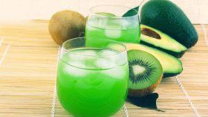 Kiwi Fruit Juice Wallpaper