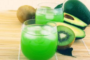 kiwi fruit juice wallpaper