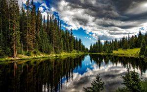Lake Irene Wallpaper Background