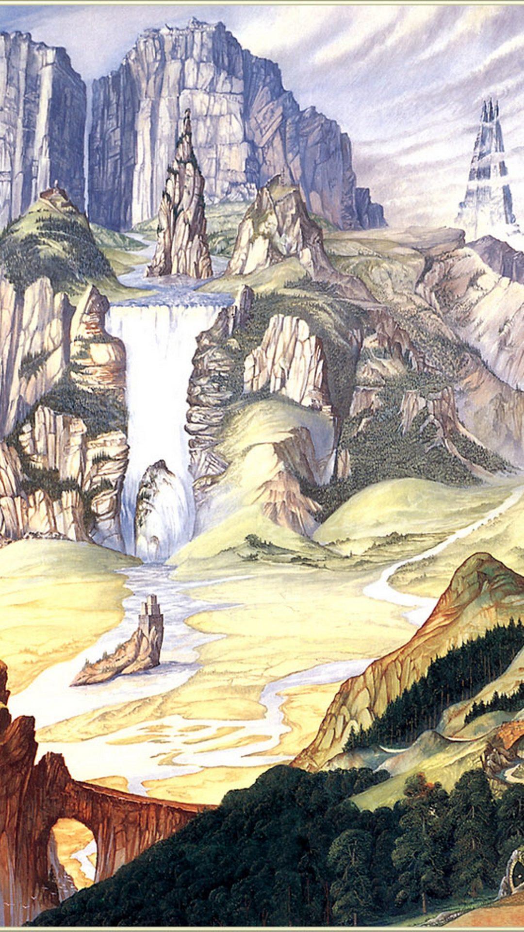 Landscape Painting Wallpaper 4k Hd Wallpaper Background