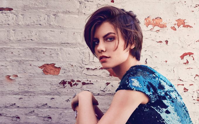 lauren cohan wallpaper 4k background