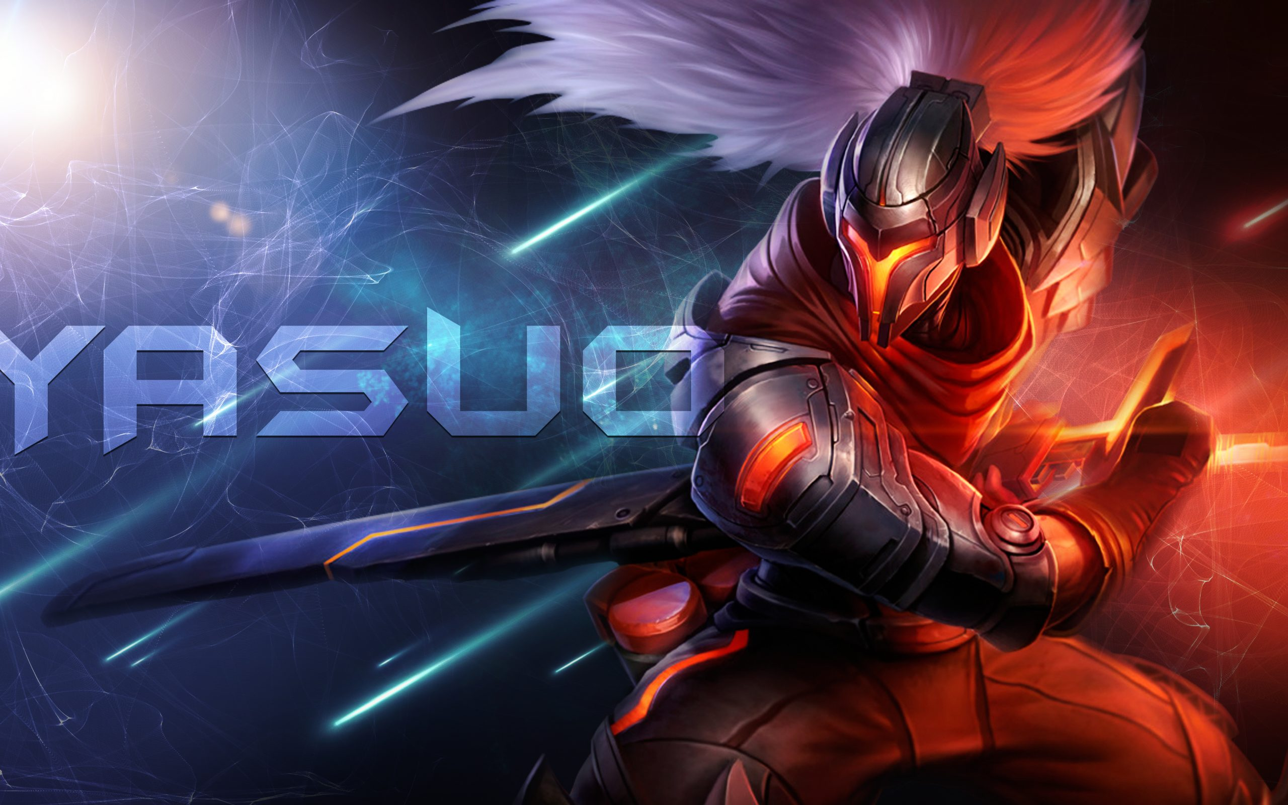 League of Legends Yasuo 5K Wallpaper  HD Wallpaper Background