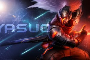 League of Legends Yasuo 5K Wallpaper