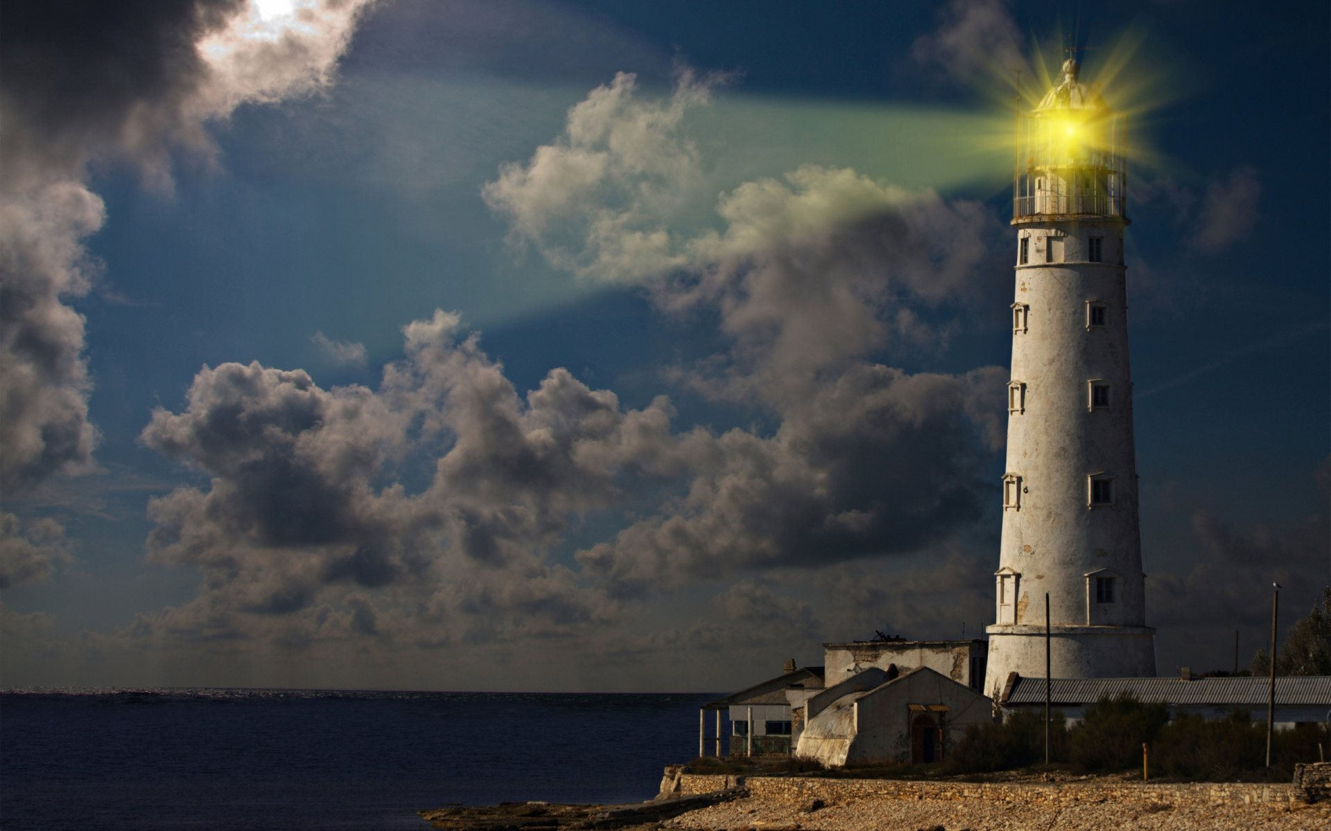 lighthouse wallpaper background
