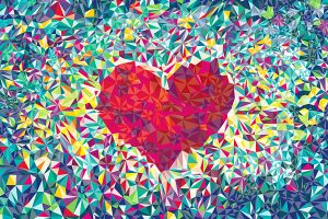 love heart wallpaper background, wallpapers