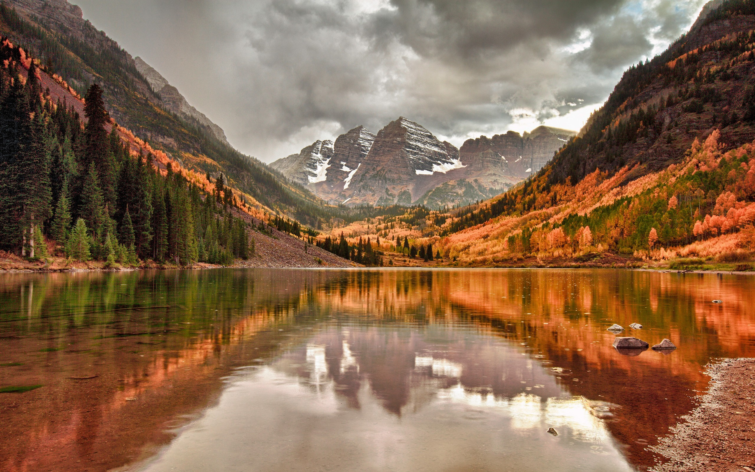 Maroon Bells Wallpaper Background | HD Wallpaper Background