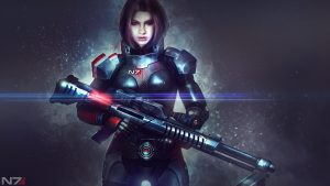 Mass Effect Alexandra Shepard 4K Wallpaper