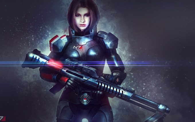 mass effect alexandra shepard 4k wallpaper background