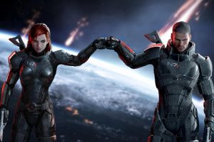 mass effect shepard wallpaper background