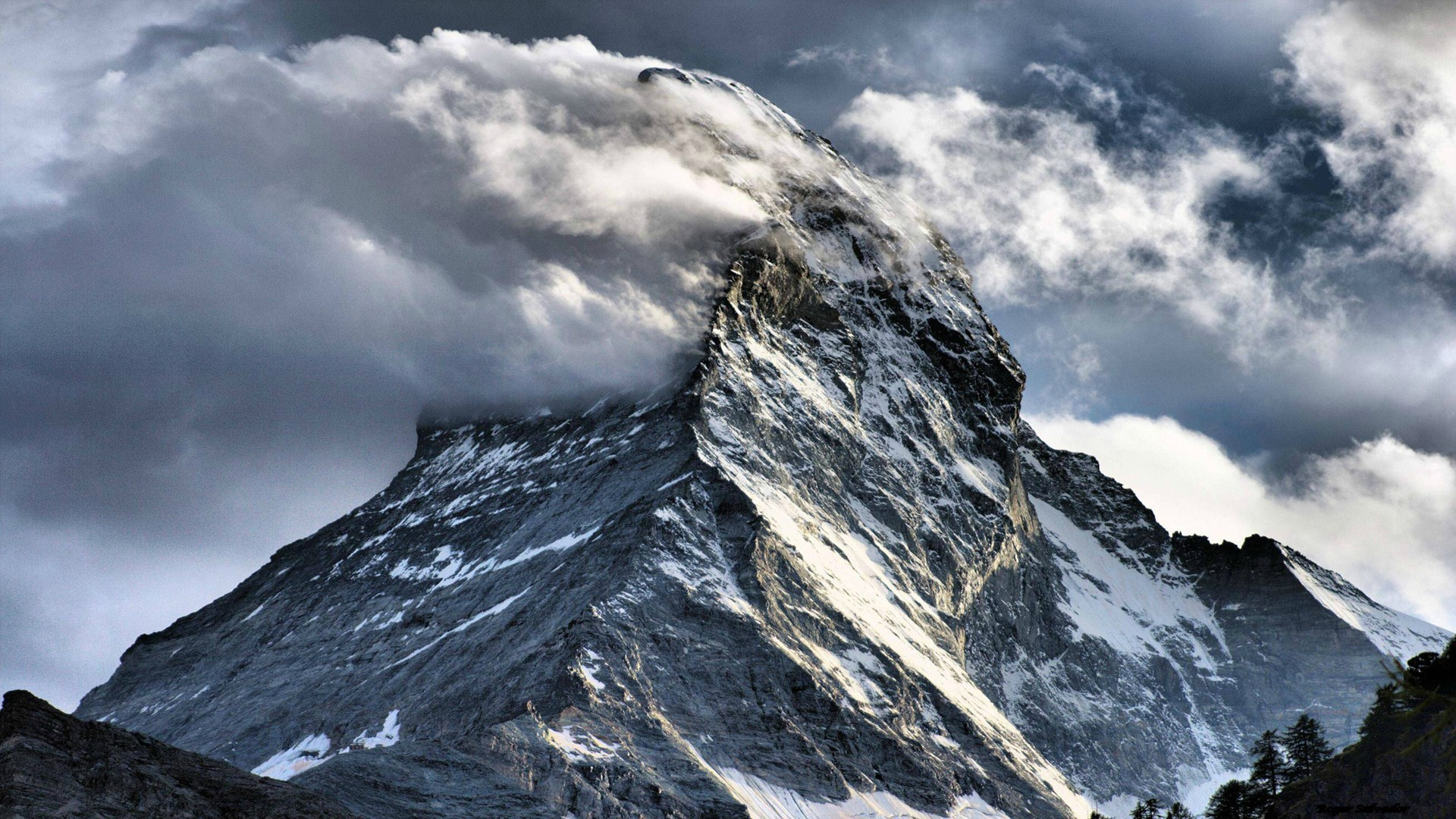 matterhorn wallpaper background