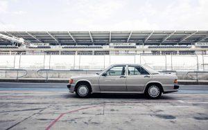 Mercedes Benz 190E Wallpaper Background