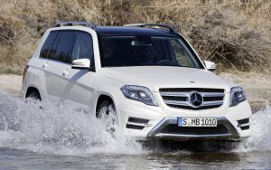 Mercedes Benz GLK Off Road Wallpaper