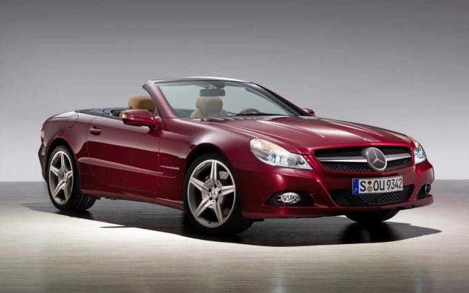 mercedes benz sl wallpaper background, wallpapers