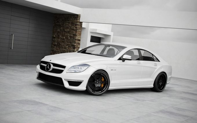 mercedes cls 63 amg wallpaper background