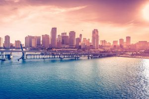 miami downtown wallpaper background
