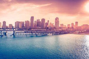 Miami Downtown Wallpaper