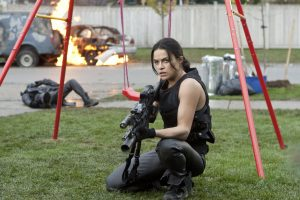 michelle rodriguez resident evil retribution wallpaper background