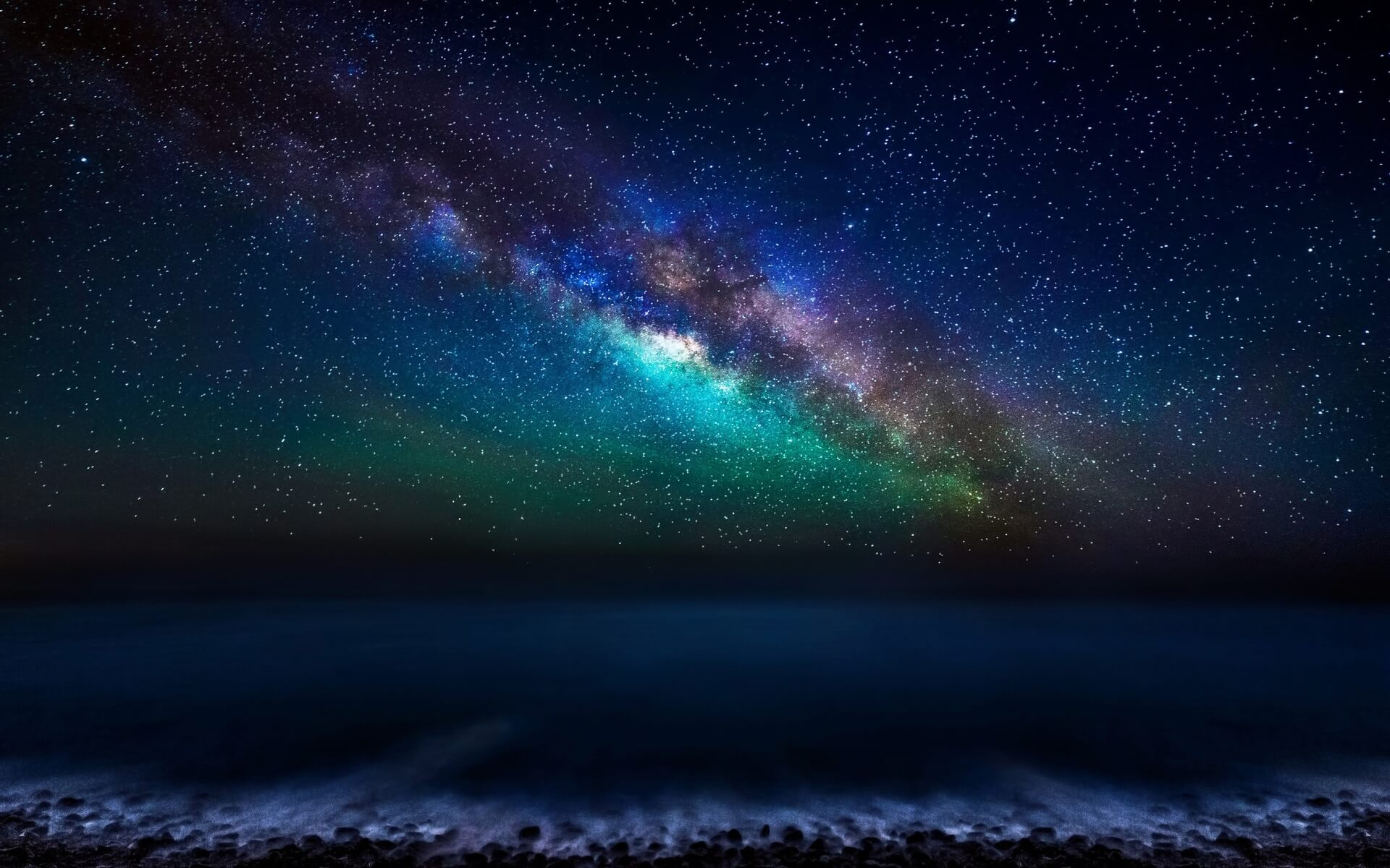 milky way galaxy wallpaper background