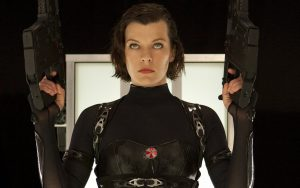 Milla Jovovich Resident Evil Retribution Wallpaper