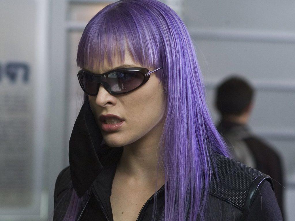 Milla Jovovich Ultraviolet Wallpaper