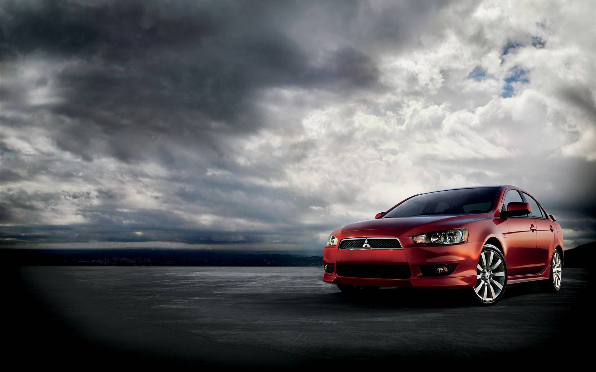 mitsubishi lancer wallpaper background