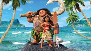 Moana Movie Wallpaper 4K