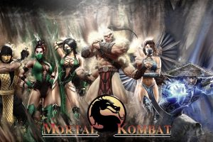 mortal kombat wallpaper background