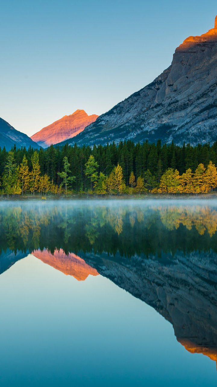 Mountain Reflection Wallpaper 4K Background | HD Wallpaper ...