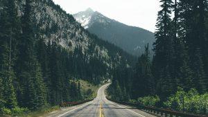 Mountain Road HD Wallpaper
