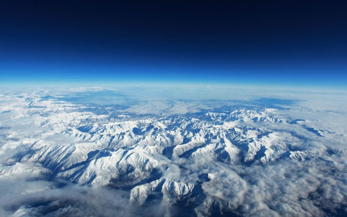 mountains aerial view wallpaper background
