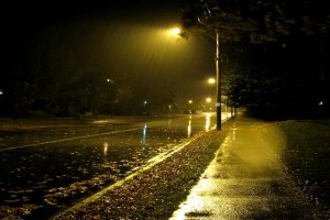 night rain wallpaper background