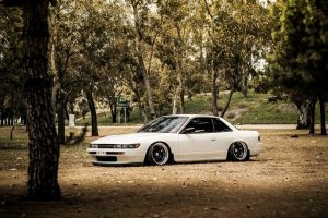 nissan silvia s13 wallpaper background