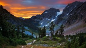 North Cascade National Park Wallpaper