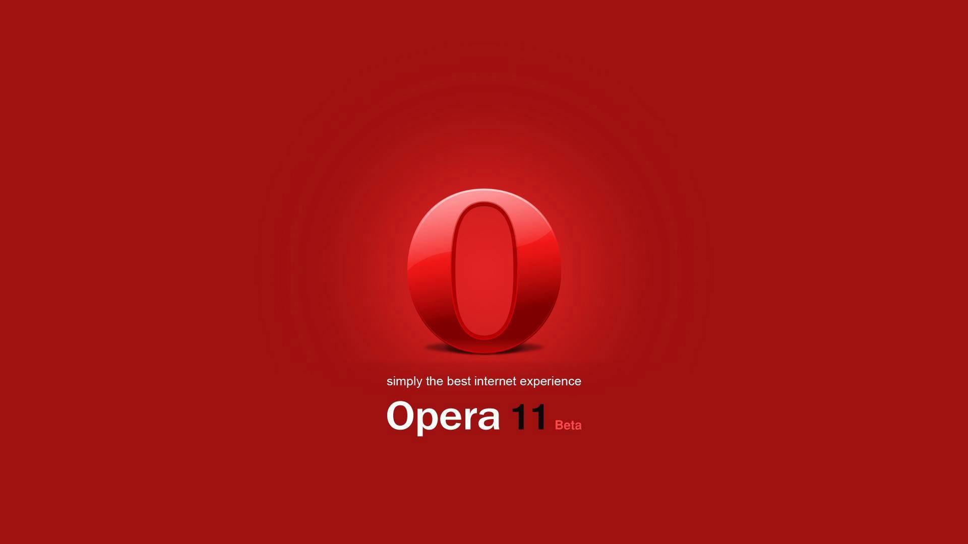 opera 11 wallpaper background