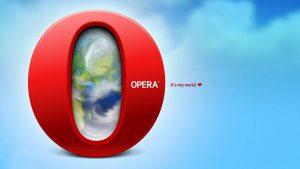 Opera Internet Browser Wallpaper