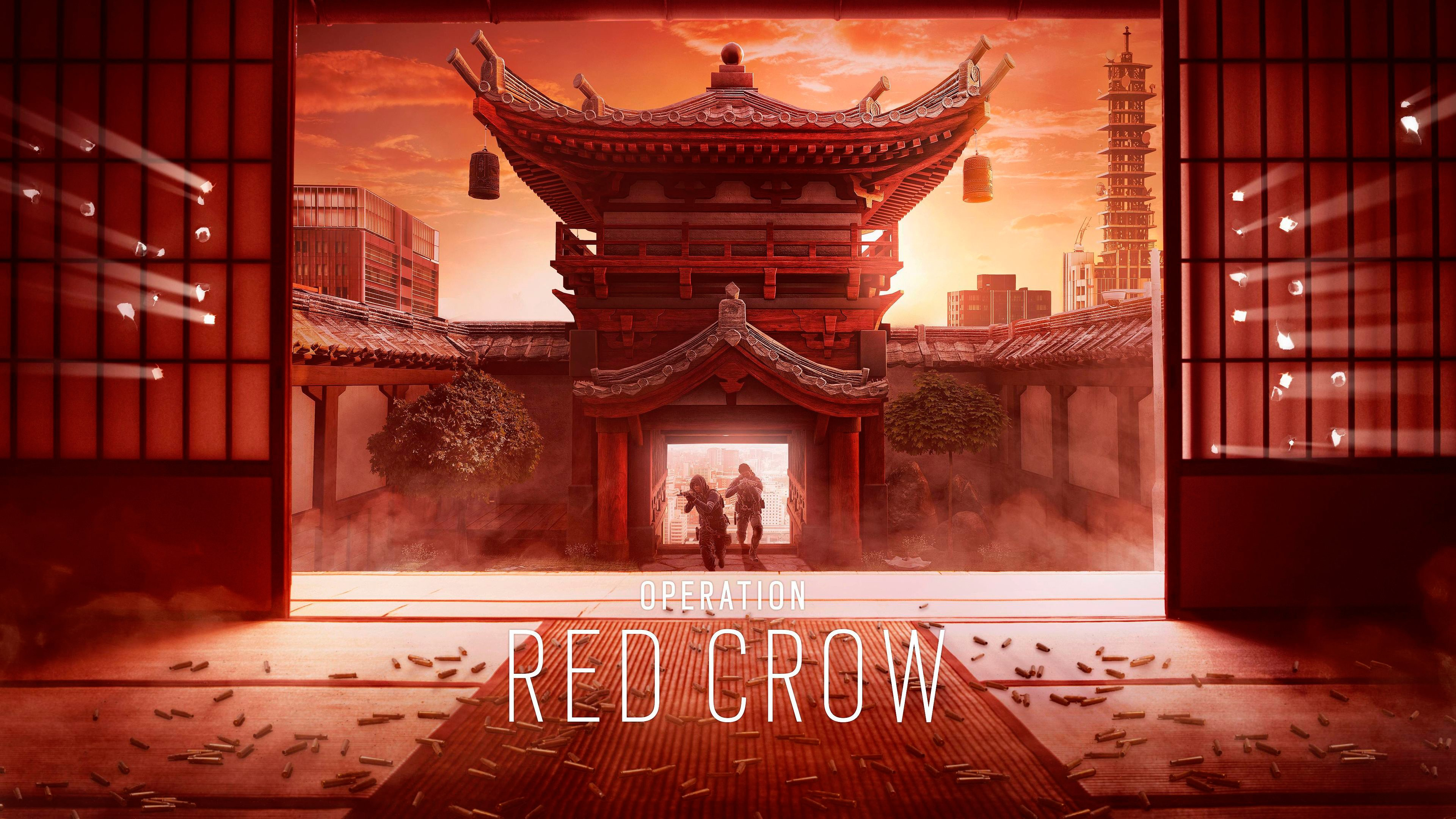 operation red crow wallpaper 4k background