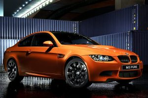orange bmw m3 wallpaper background