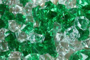 pebbles, crystals, green, 4k, hd, widescreen, wallpaper