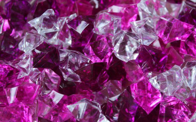 pebbles, crystals, violet, 4k, 5k, hd, widescreen, wallpaper