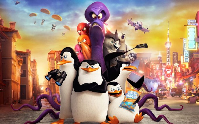 penguins of madagascar wallpaper background