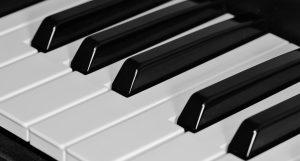 Piano Keys Wallpaper 4K Background