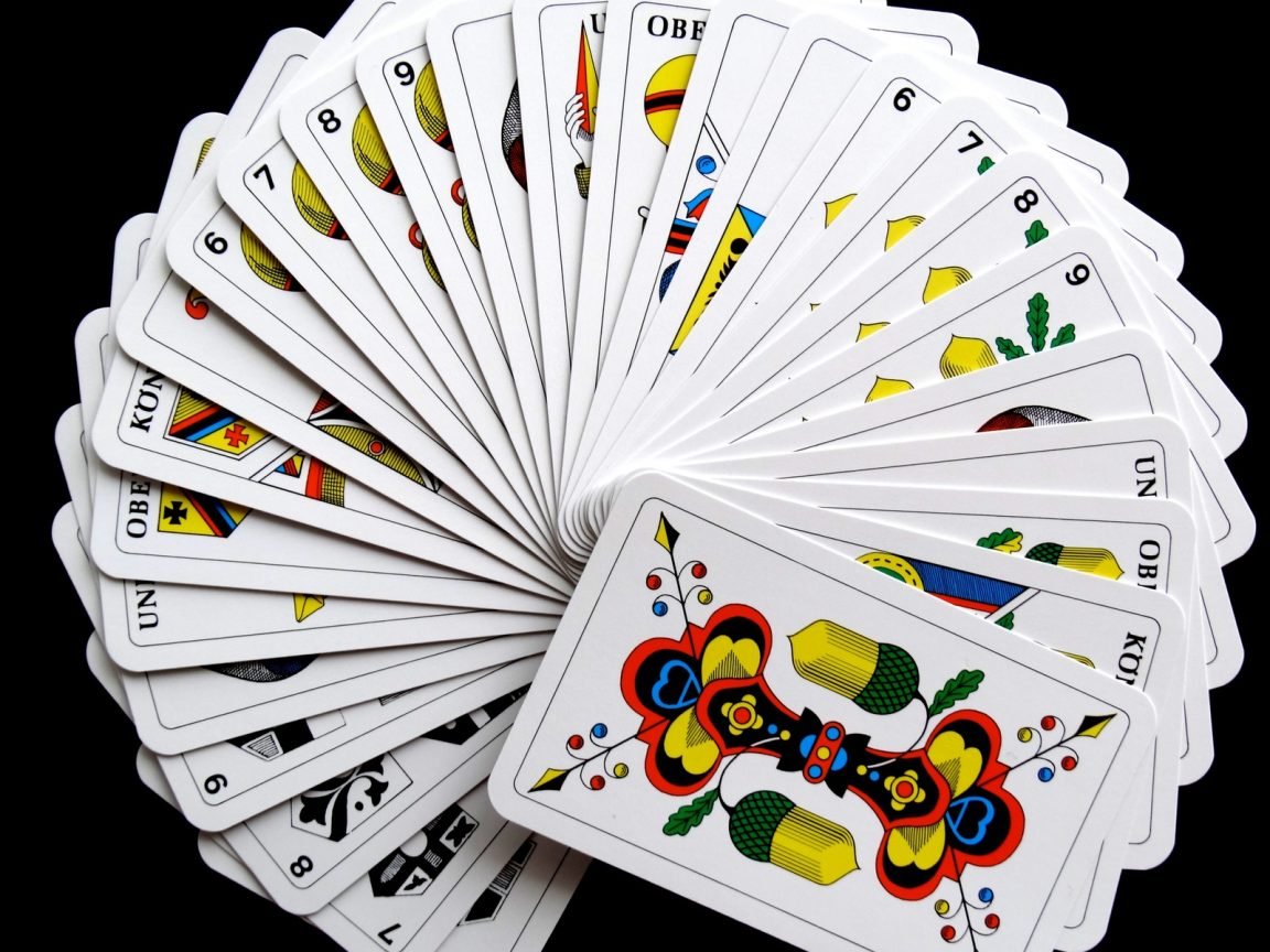 Playing Cards Wallpaper Hd Wallpaper Background