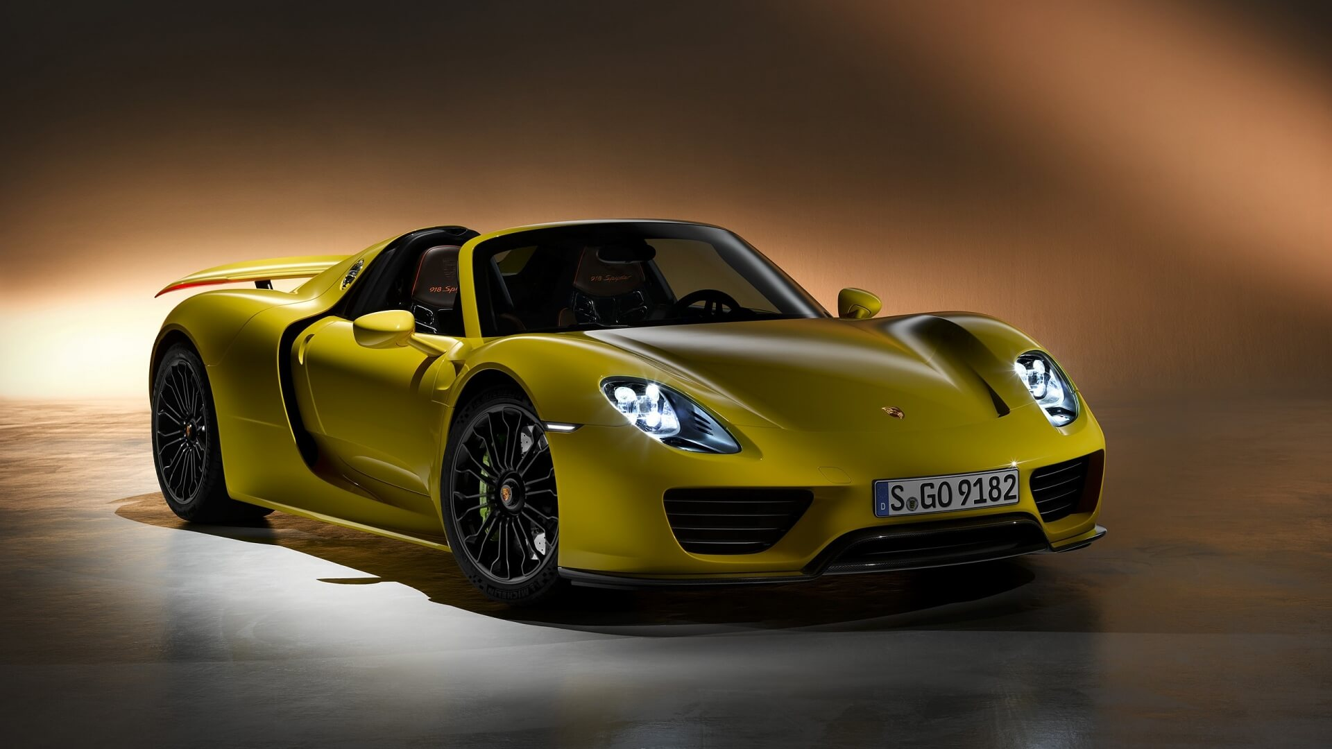porsche 918 spyder wallpaper background